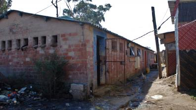 Hostel housing building in Durban. Photo: Nomfundo Xolo